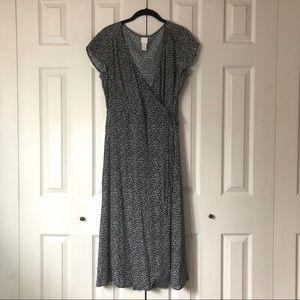 Daisy midi wrap dress 🌼